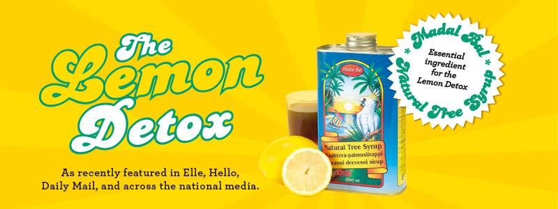 Madal Bal Natural Tree Syrup for Lemon Detox Diet