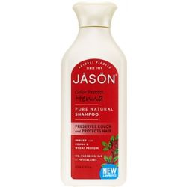 Jason Color Protect Henna Shampoo 480ml