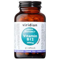 High Potency Vitamin B12 - 60 Veg Caps