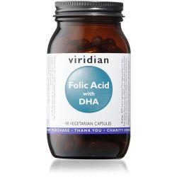 Viridian Folic Acid with DHA - 90 Veg Caps
