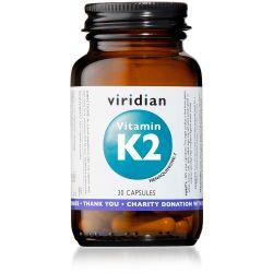 Viridian Vitamin K2 - 30 Veg Caps