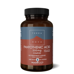 Terranova Pantothenic Acid (With Pantethine) 250Mg Complex Veg. Caps. 100's