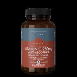 Terranova Vitamin C 250Mg Complex Veg. Caps. 100's
