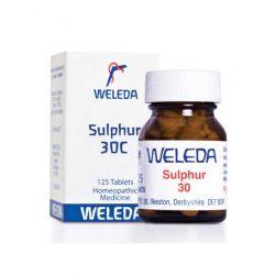 Weleda Sulphur 30c 125tab