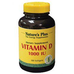Nature's Plus® Vitamin D3 1000 IU Softgels 180's