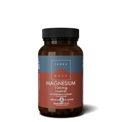 Terranova Magnesium 100Mg Complex Veg. Caps. 50's