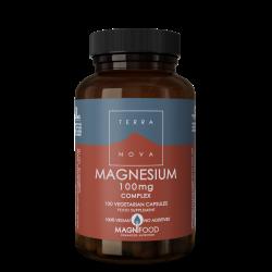 Terranova Magnesium 100Mg Complex Veg. Caps. 100's