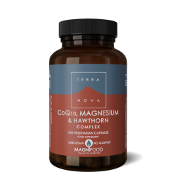 Terranova Co-Q-10, Magnesium & Hawthorn Complex Veg. Caps. 100's