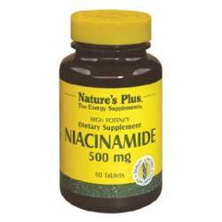 Nature's Plus Niacinamide 500 mg 90's