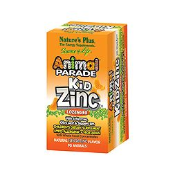 Nature's Plus Animal Parade KidZinc Lozenges 90's