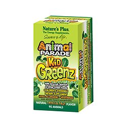 Nature's Plus Animal Parade KidGreenz - Tropical 90's