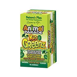 Nature's Plus Animal Parade KidGreenz - Tropical 90's