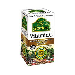 Nature's Plus Source of Life Garden Vitamin C Vcaps 60's