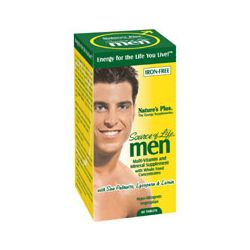 Nature's Plus Source of Life Men Iron Free120's