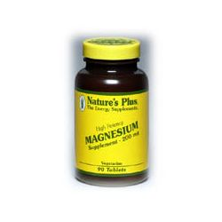 Nature's Plus Magnesium 200 mg Tablets 90's