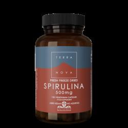 Terranova Spirulina 500Mg Veg. Caps. 100's