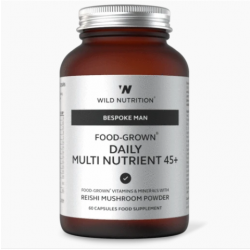 Wild Nutrition Bespoke Man Food-Grown Daily Multi Nutrient 45+ 60 caps