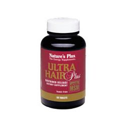 Nature's Plus Ultra Hair Plus Sustain Release Tabs. 60's