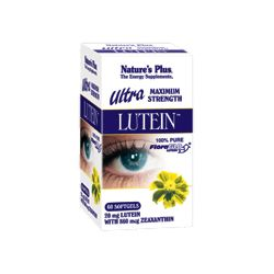 Nature's Plus Ultra Lutein Softgels 60's
