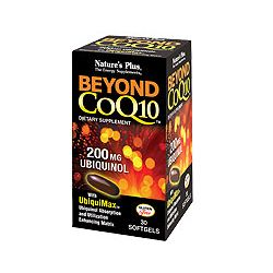 Nature's Plus Beyond CoQ10 Ubiquinol 200 mg Softgels 30's