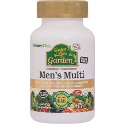 Nature's Plus Source of Life GARDEN ORGANIC MENS MULTI TAB 90