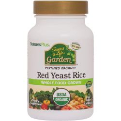 Nature's Plus Source of Life GRDN ORG RED YEAST RICE 600MG CAP 60