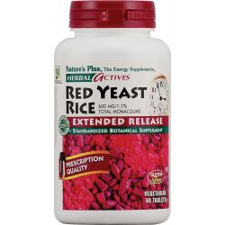 Nature's Plus Red Yeast Rice 600mg (Exte. Rel) 60 Tab