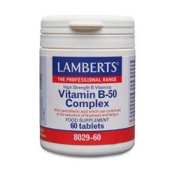 LAMBERTS VITAMIN B-50 COMPLEX Tablets  60's