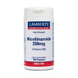 LAMBERTS NICOTINAMIDE 250mg 100's
