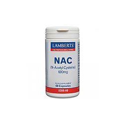 Lamberts N-Acetyl Cysteine (NAC) 600mg 90's