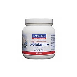 Lamberts L-Glutamine 500g Powder