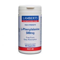 LAMBERTS L-PHENYLALANINE 500 Mg 60's