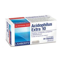 LAMBERTS ACIDOPHILUS EXTRA 10  30's
