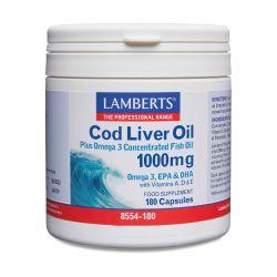 LAMBERTS COD LIVER OIL  180'S