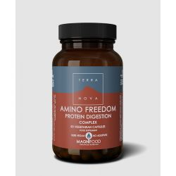Terranova Amino Freedom - Protein Digestion Complex Veg. Caps. 50's