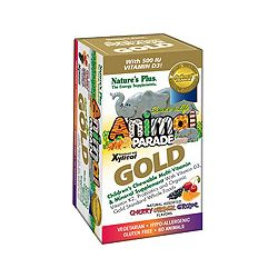 Nature's Plus Animal Parade GOLD Children's Multi - Assorted 120's