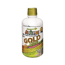 Nature's Plus Animal Parade GOLD Liquid Multi – Tropical 16oz