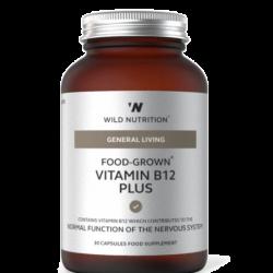 Wild Nutrition General Living Food-Grown Vitamin B12 Plus 30 caps