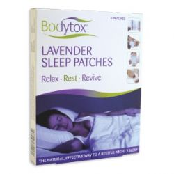 Bodytox Lavender Sleep Patches 6 Pack