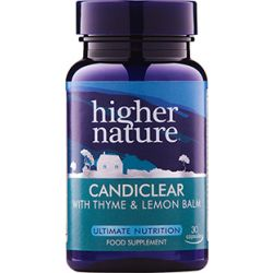 Higher Nature Candiclear 90 capsules