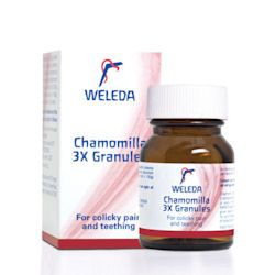 Weleda  Chamomilla 3X Granules 15g