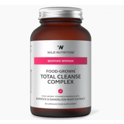 Wild Nutrition Bespoke Woman Food-Grown Total Cleanse Complex 90 caps