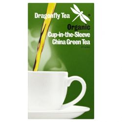 Dragonfly Organic Cup-in-the-Sleeve Green 20 Bags