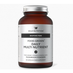 Wild Nutrition Bespoke Man Food-Grown Daily Multi Nutrient  60 caps