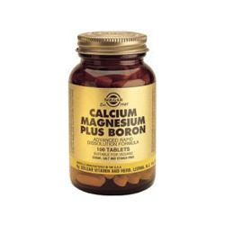 Solgar Calcium Magnesium plus Boron Tablets 250's