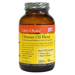 Udos Choice Ultimate Oil Blend - 1000mg Capsules 60's