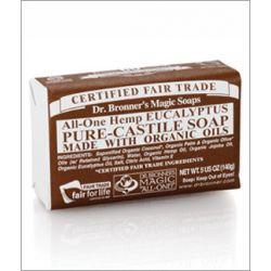 Dr. Bronner's Eucalyptus Bar Soap140g