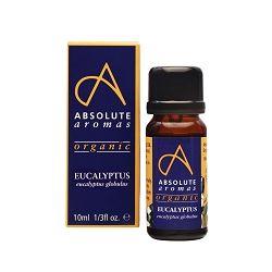Absolute Aromas Organic Eucalyptus Globulus Oil 10ml
