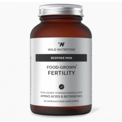 Wild Nutrition Bespoke Man Food-Grown Fertility 60 caps