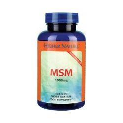 Higher Nature MSM 1000mg 90 tablets
